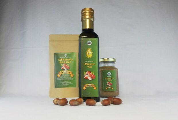 PG Korićanac – proizvodi od lešnika
